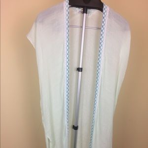 Francesca's Mint Teal Kimono Cover Up one size